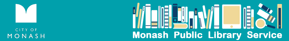 Back to Monash Public Library Service